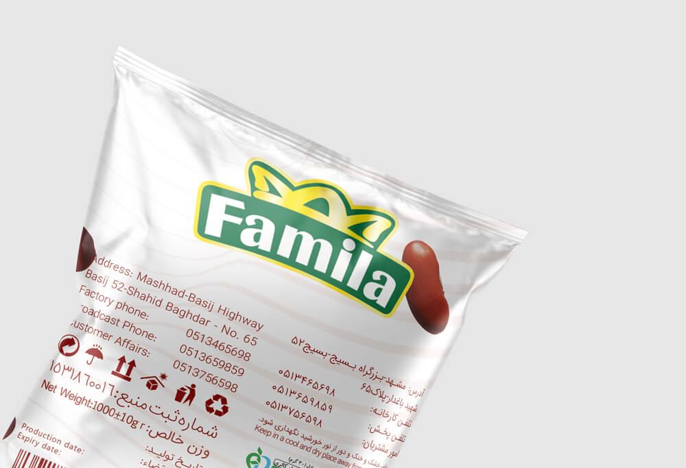 Famila brand bean packaging design-12