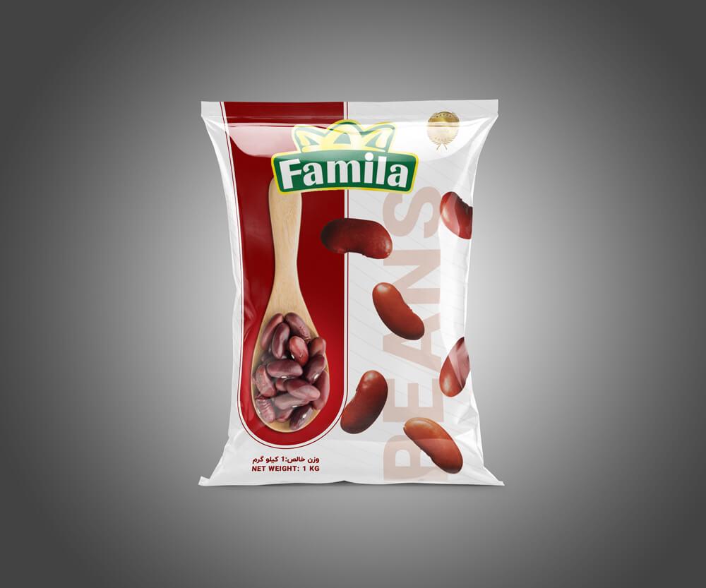 Famila brand bean packaging design-8