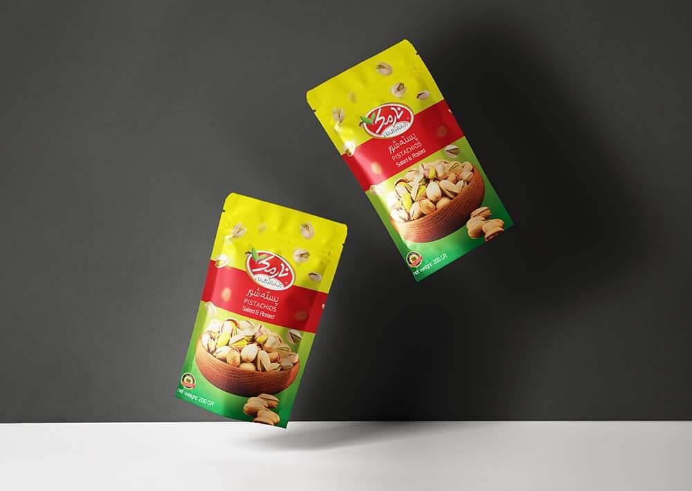 Narmak nuts packaging design-1
