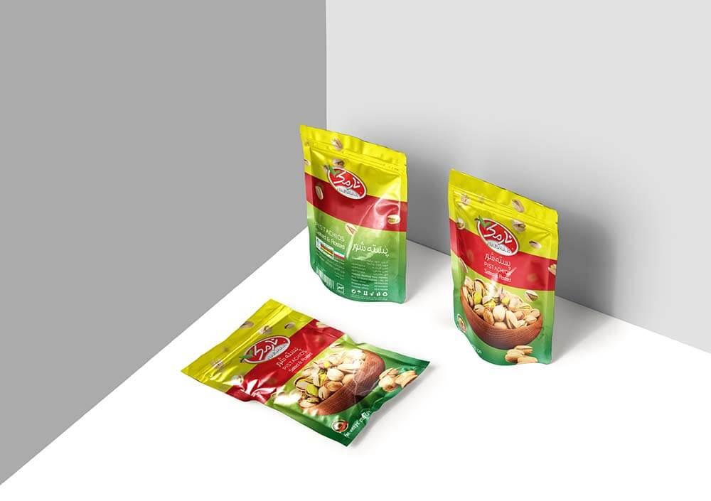 Narmak nuts packaging design-2
