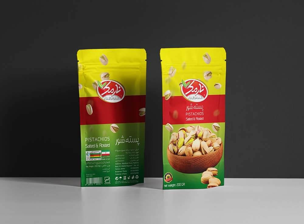 Narmak nuts packaging design-3