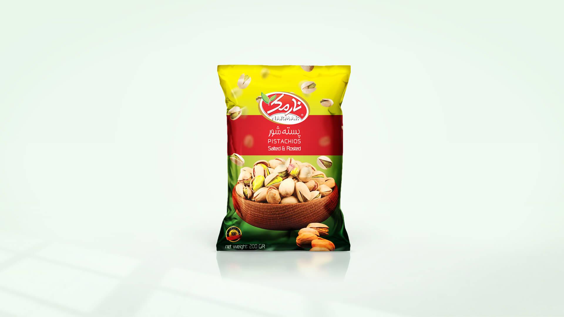 Narmak nuts packaging design-4
