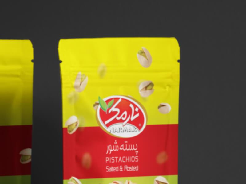 Narmak nuts packaging design-5