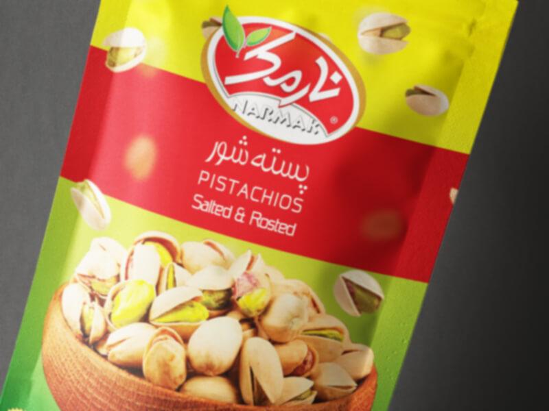 Narmak nuts packaging design-8